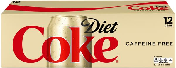 Caffeine Free Diet Coke 12 Pack