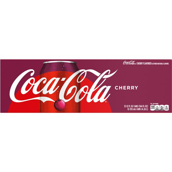 Coca-Cola Cherry 12 Pack