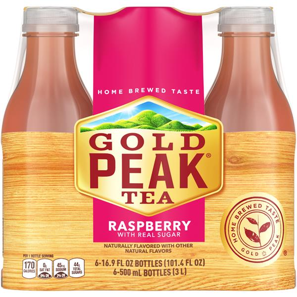 Gold Peak Raspberry Iced Tea 6 Pack