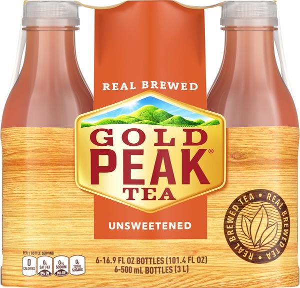Gold Peak Unsweetened Iced Tea 6Pk