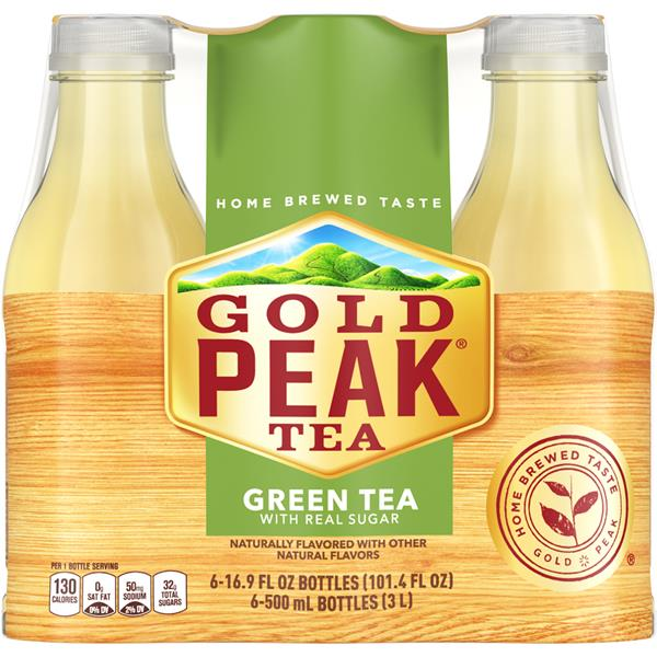Gold Peak Green Tea Iced Tea 6 Pack
