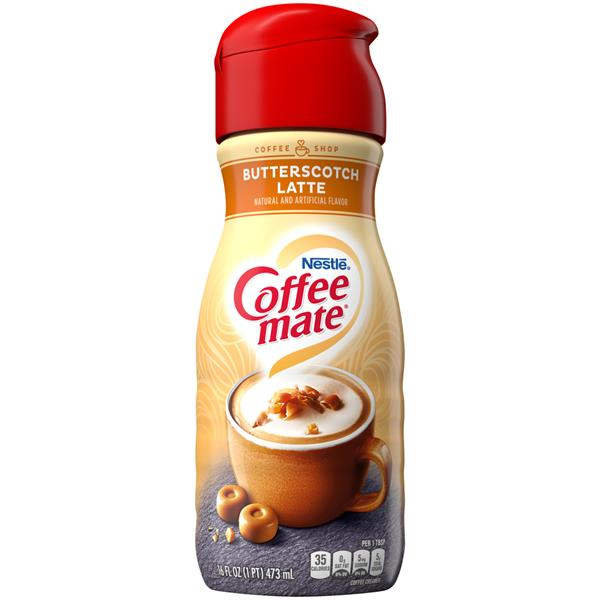 Nestle Coffee-mate Coffee House Butterscotch Latte Liquid Coffee Creamer