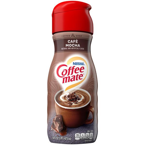 Coffee-Mate Cafe Mocha Liquid Coffee Creamer