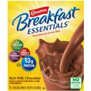 Carnation Breakfast Essentials Rich Milk Chocolate Complete Nutritional Drink, 10-1.26 Oz Packets