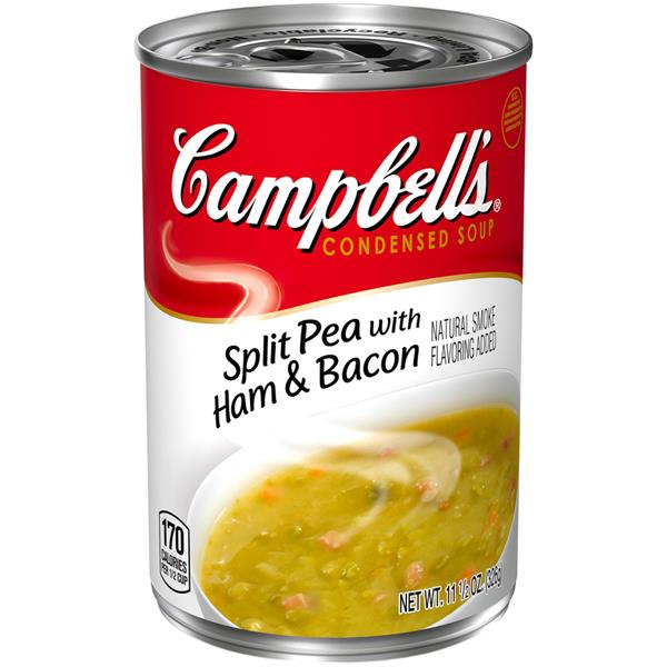Campbell's Split Pea With Ham & Bacon Condensed Soup