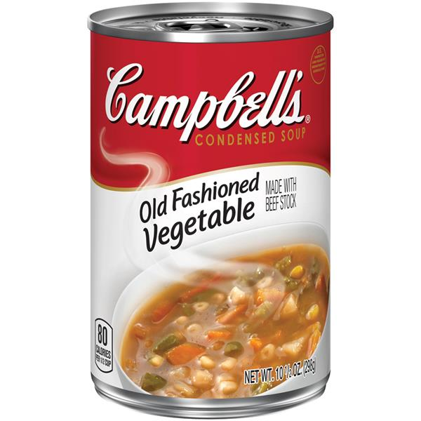 Campbell's Old Fashioned Vegetable Made With Beef Stock Condensed Soup