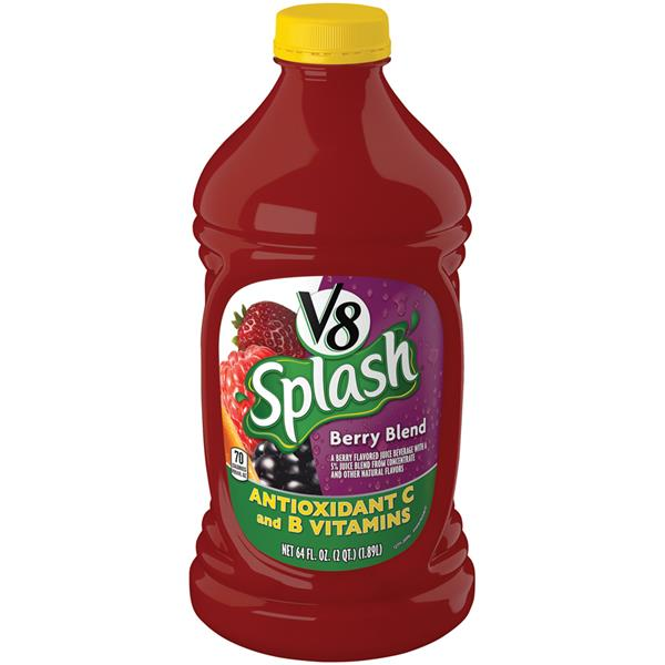 V8 Splash Berry Blend Fruit Juice