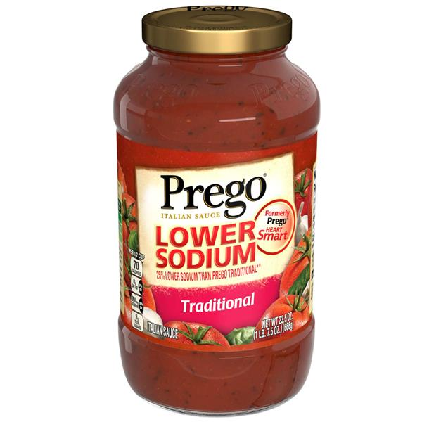 Prego Lower Sodium Traditional Italian Sauce
