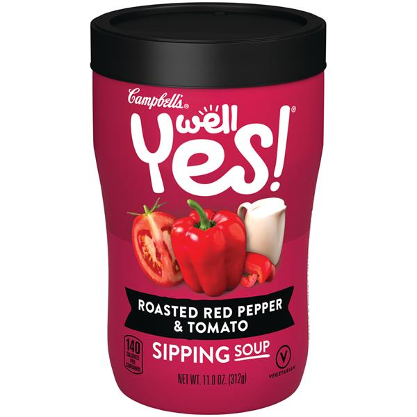 Campbell's Well Yes! Sipping Soup, Roasted Red Pepper & Tomato