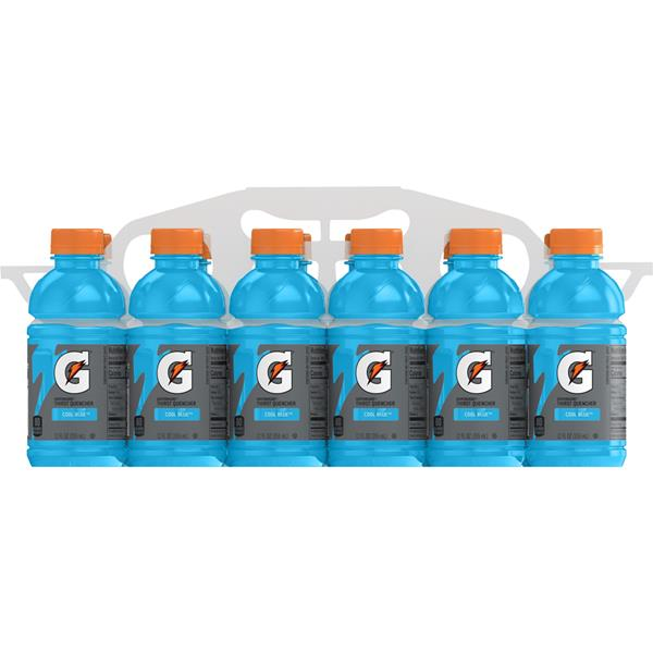 Gatorade G Series Cool Blue Thirst Quencher 12Pk
