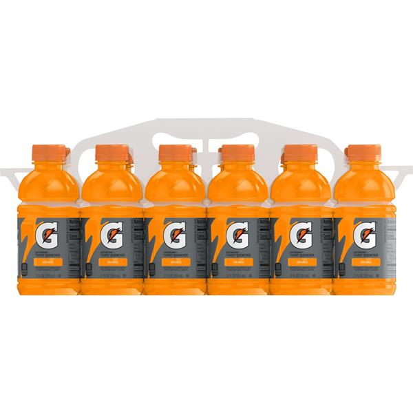 Gatorade G Series Orange Sports Drink 12Pk