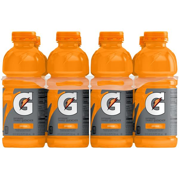 Gatorade G Series Orange Sports Drink 8Pk
