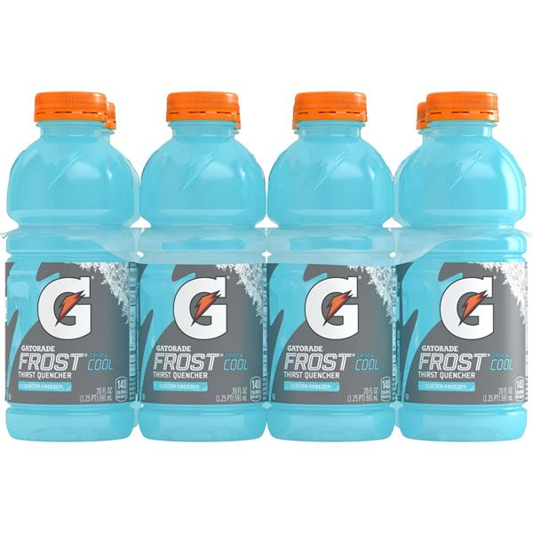 Gatorade Frost Glacier Freeze Sports Drink 8Pk