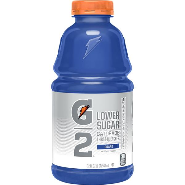 Gatorade G2 Lower Sugar Grape Sports Drink