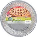 "Handi-Foil Eco-Foil 9-11/16 in. x 1-11/32 in. Pie Pans for 10"" Recipes"
