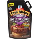 McCormick Grill Mates Sweet Mesquite & Caramelized Onion Steakhouse Burgers Sauce Mix-Ins Seasoning 2.83 oz. Pouch