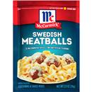 McCormick Swedish Meatballs Seasoning & Sauce Mixes
