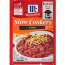 McCormick Slow Cookers Chili Seasoning Mix