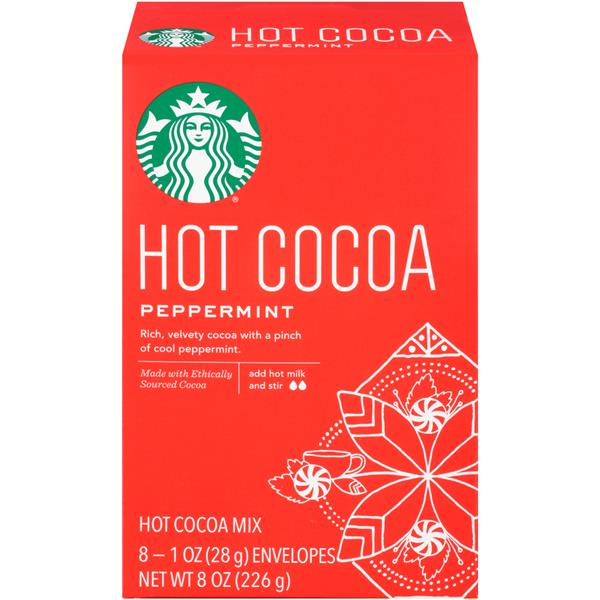 Starbucks Hot Cocoa Peppermint 8Pk