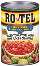 Ro*Tel Mexican Lime & Cilantro Diced Tomatoes with Lime Juice & Cilantro