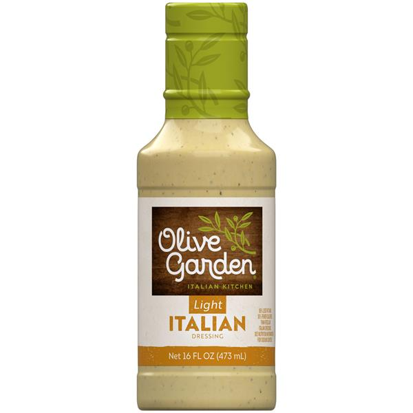 Olive Garden Light Italian Dressing 16 Fl Oz Plastic Bottle Hy Vee Aisles Online Grocery