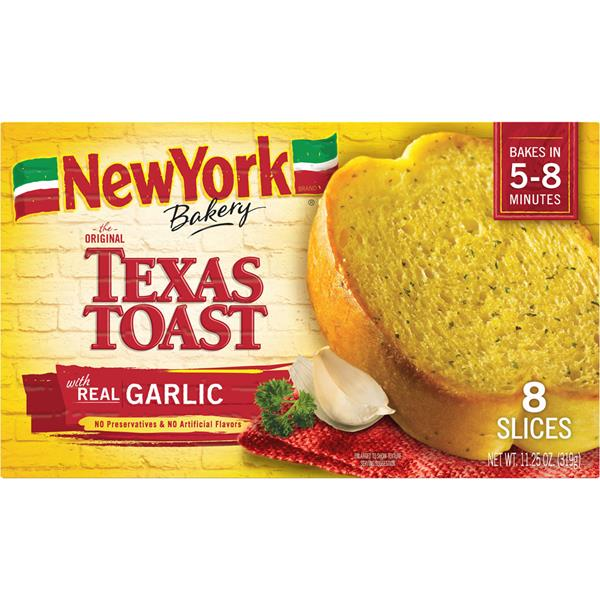 New York Brand Bakery The Original Texas Toast With Real Garlic 8 Ct