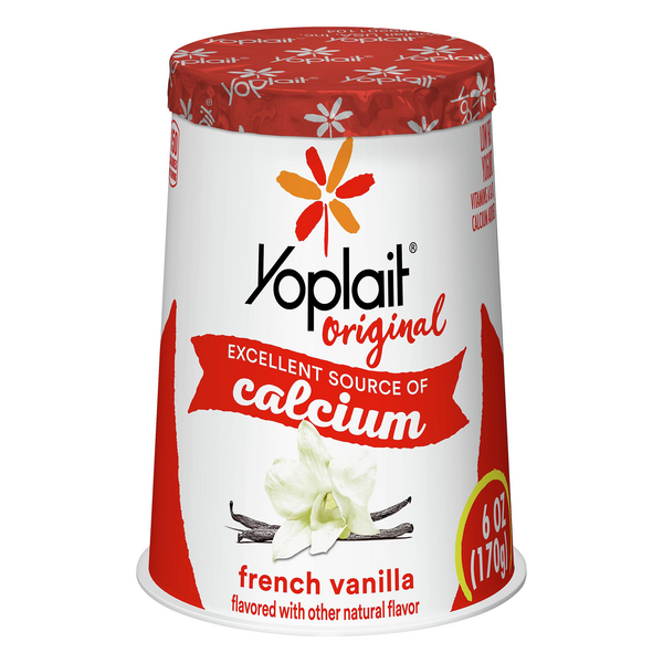 Yoplait Original French Vanilla Flavored Yogurt