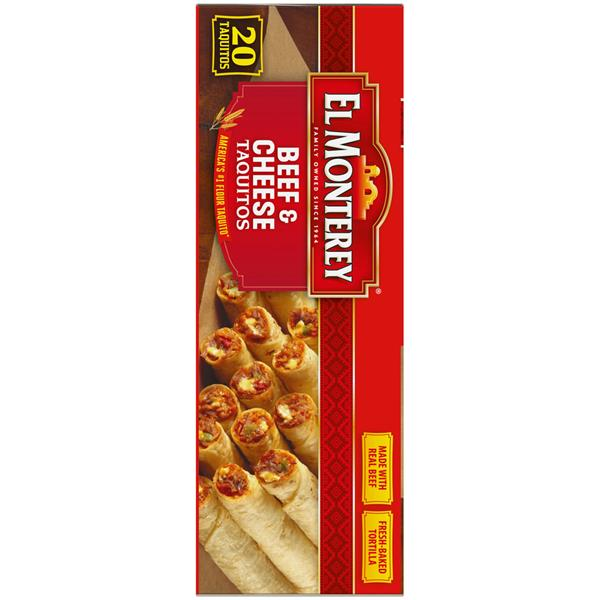 El Monterey Beef & Cheese Taquitos 21 Count