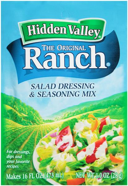 Hidden Valley The Original Ranch Salad Dressing Seasoning Mix Hy Vee Aisles Online Grocery Shopping