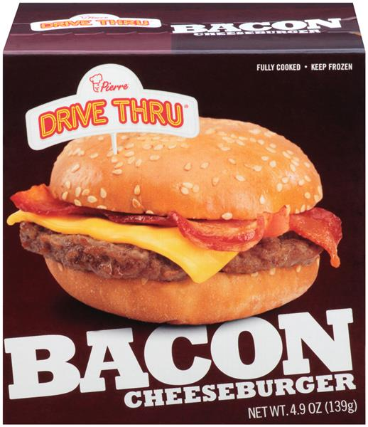 Pierre Drive Thru Bacon Cheeseburger