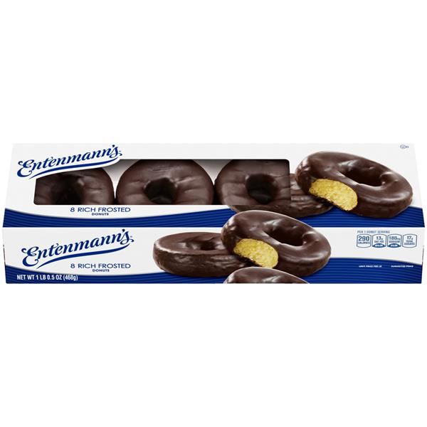 Entenmann's Rich Frosted Donuts 8Ct