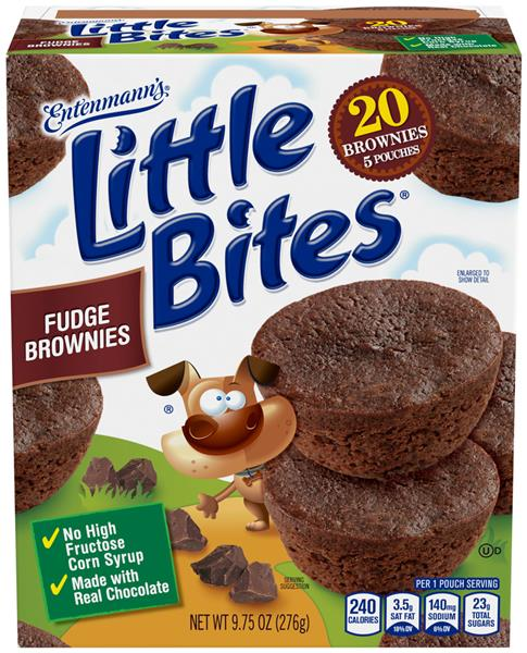 Entenmann's Little Bites Fudge Brownies