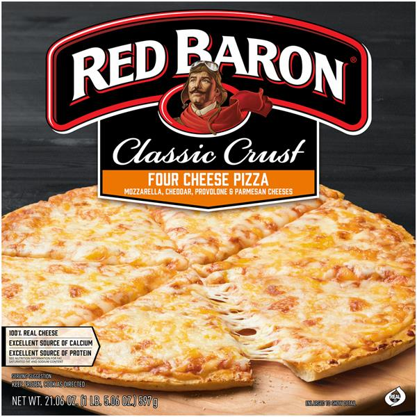 Red Baron Classic Crust 4 Cheese Pizza