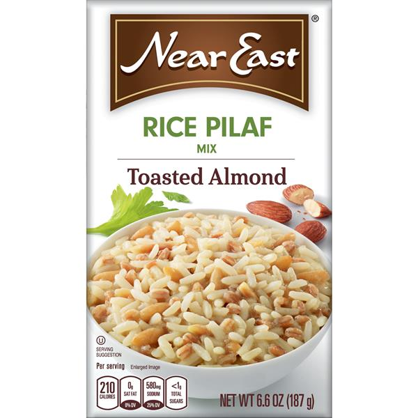 Near East Toasted Almond Rice Pilaf Mix