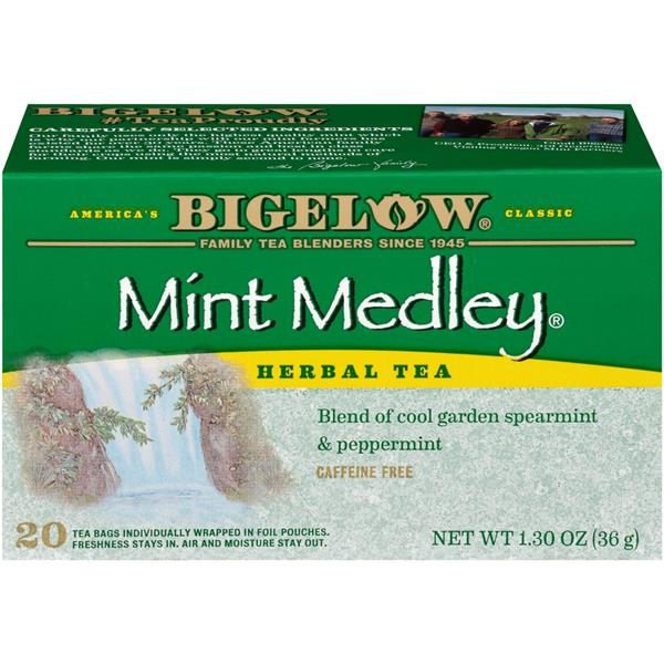 Bigelow Mint Medley Herbal Tea 20 Count