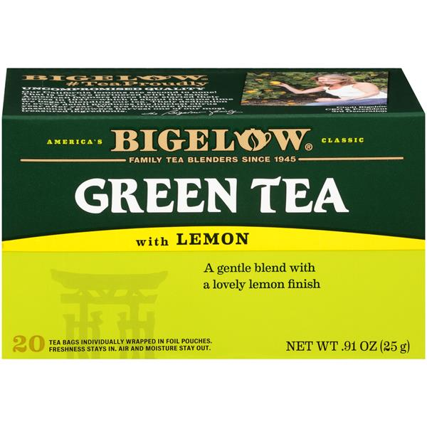 Bigelow Green Tea with Lemon 20 Count