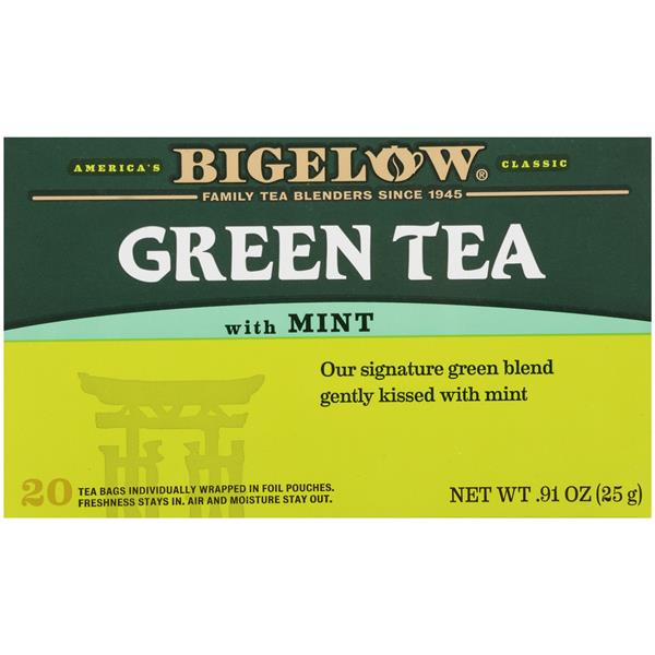 Bigelow Green Tea with Mint 20Ct Bags