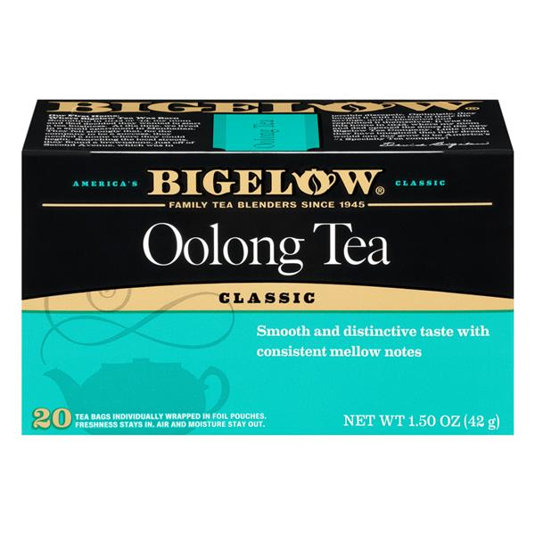Bigelow Classic Oolong Tea 20Ct Bags