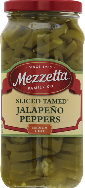 Mezzetta Mezzetta Deli-Sliced Tamed Jalapeno Peppers