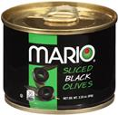 Mario Sliced Black Olives