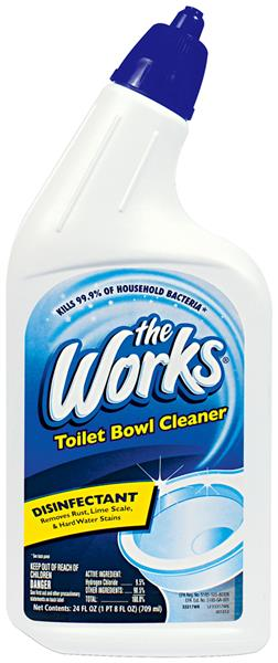 The Works Toilet Bowl Cleaner with Disinfectant