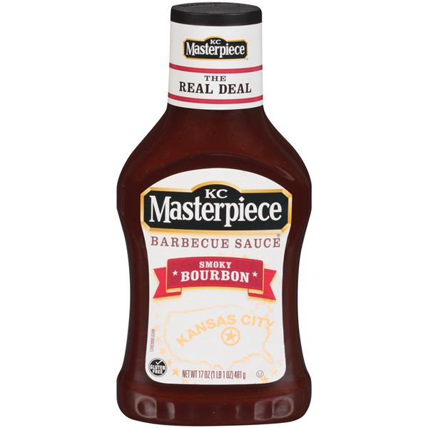 KC Masterpiece Smoky Bourbon Barbecue Sauce
