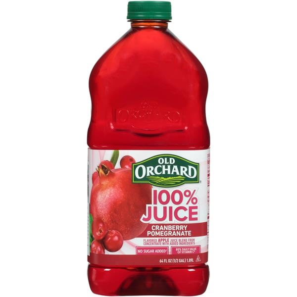 Old Orchard 100% Cranberry Pomegranate Juice
