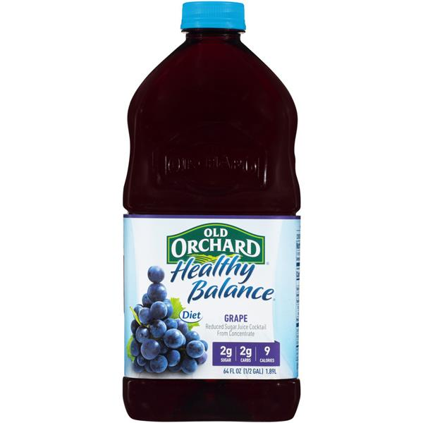 Old Orchard Healthy Balance Diet Grape Juice Cocktail