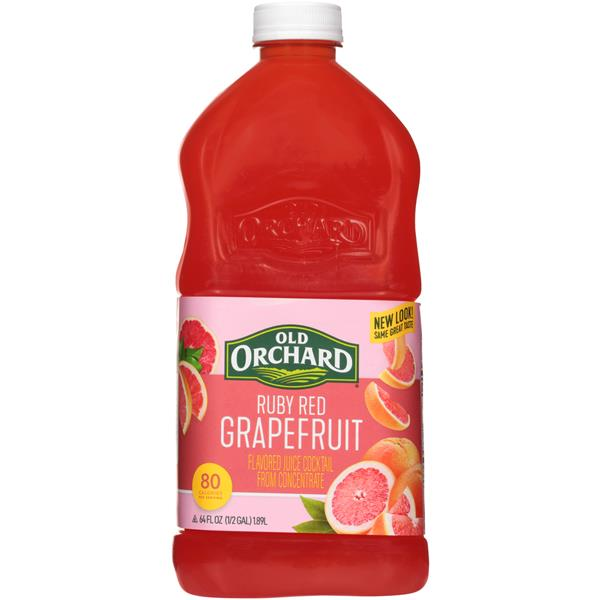 Old Orchard Ruby Red Grapefruit Juice Cocktail