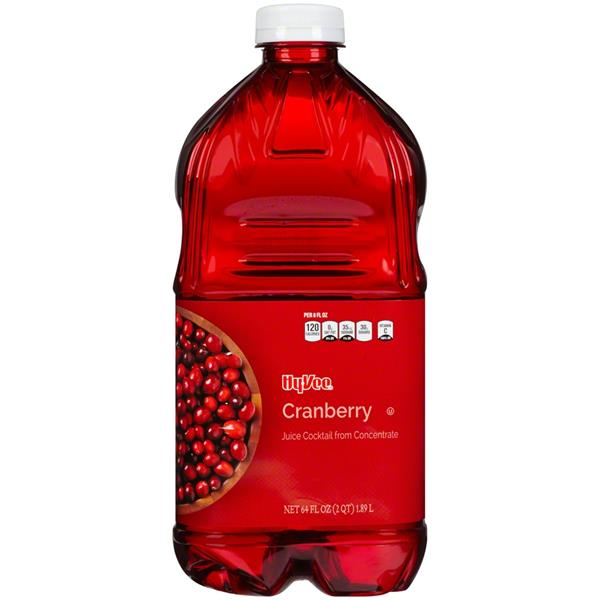 Hy-Vee Cranberry Juice Cocktail