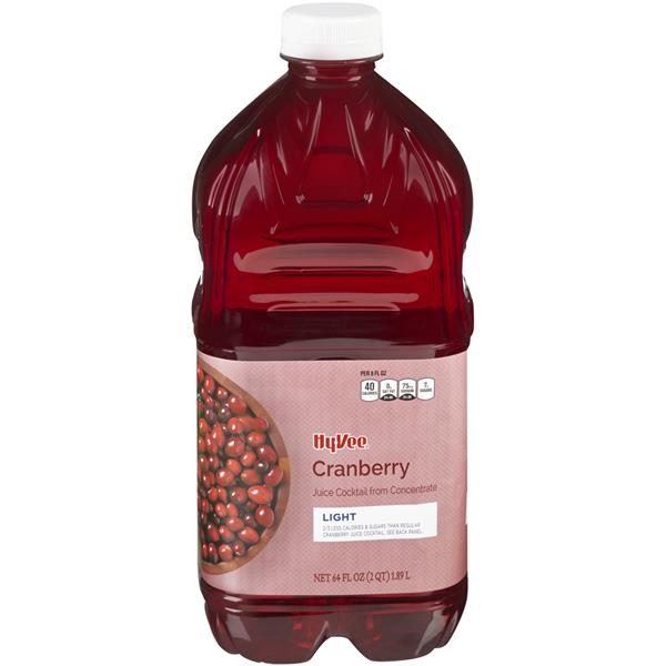 Hy-Vee Light Cranberry Juice Cocktail