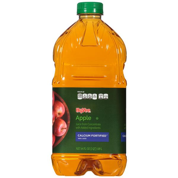 Hy-Vee Calcium Fortified Apple  Juice