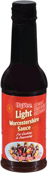 Hy Vee Light Worcestershire Sauce