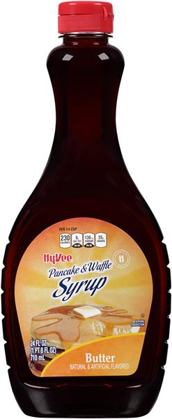 Hy-Vee Butter Flavor Pancake & Waffle Syrup